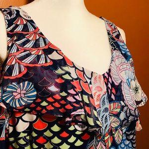 ⬛️ Roz & Ali cold shoulder dress